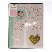 C.R. Gibson First 5 Years Memory Book, Record Memories and Milestones on 64 Beautifully Illustrated Pages - Little Love
