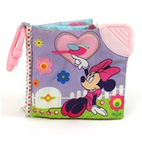 Disney Baby Minnie Mouse On the Go Soft Teether Book, 5""